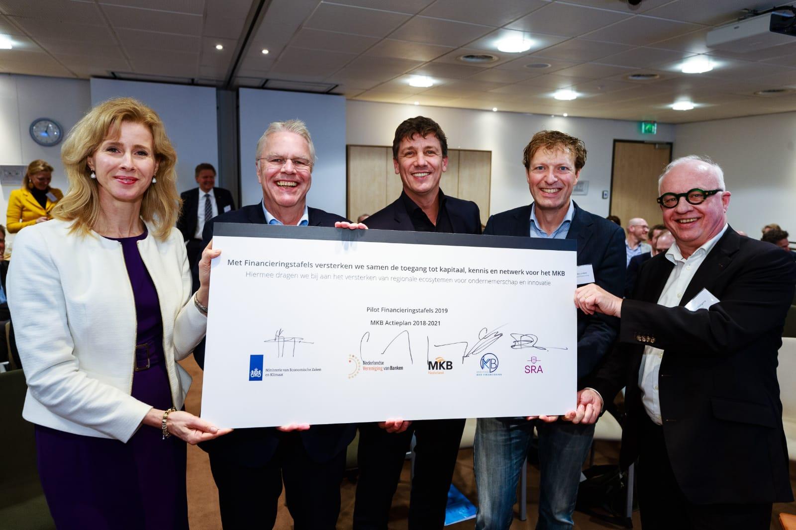 1,1 miljoen euro voor Financieringstafels MKB en startups