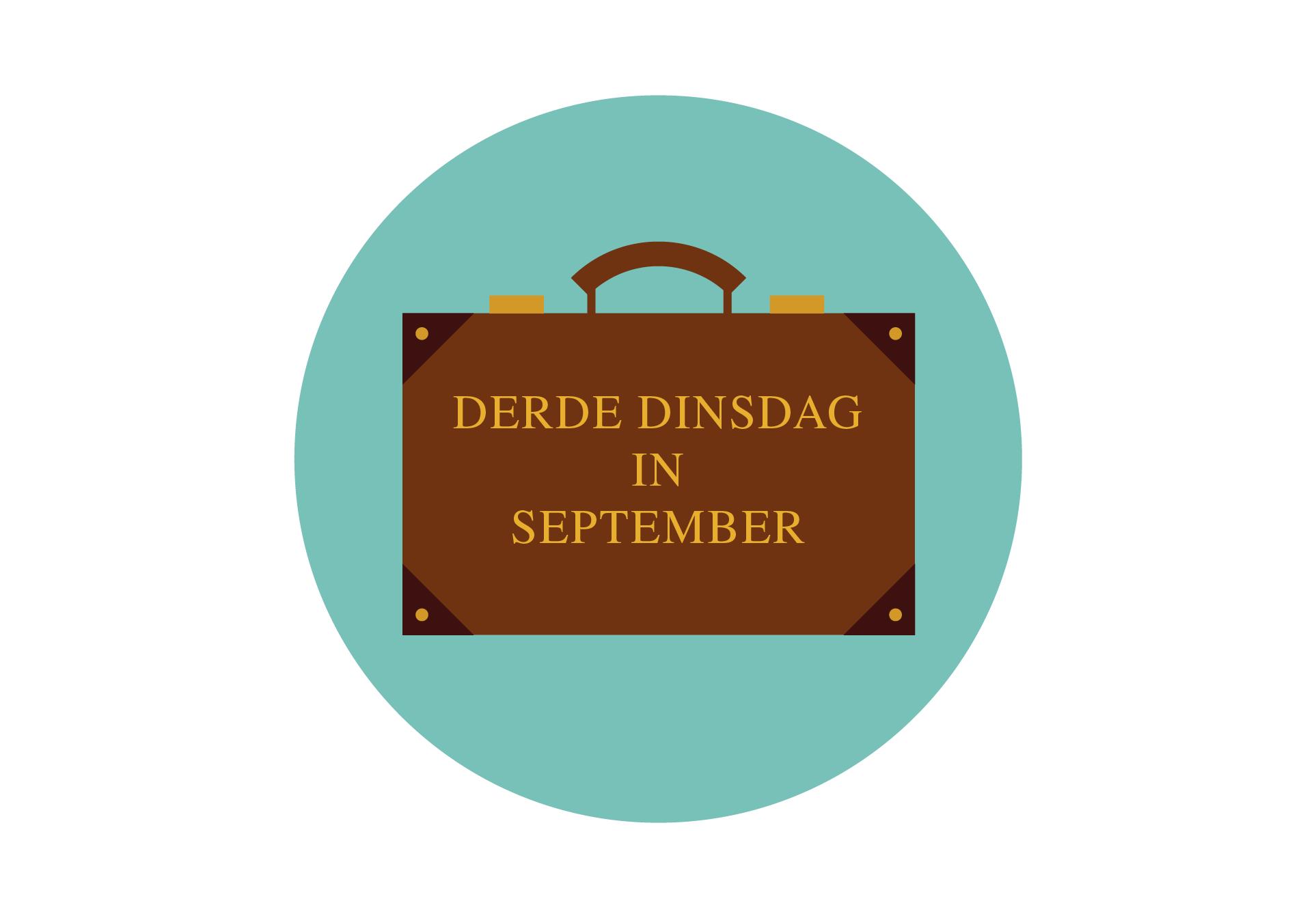 Blog 63: Tweede dinsdag van september